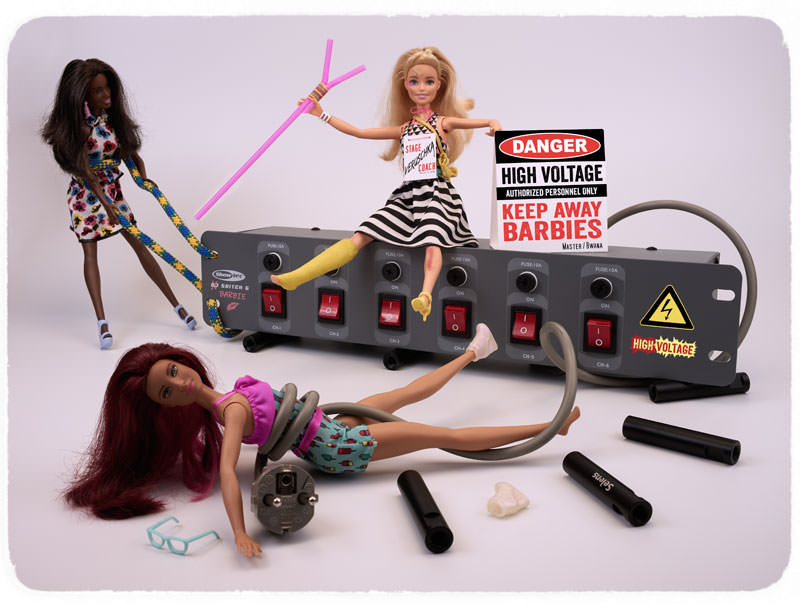 Barbie toy photography, Barbies product photography